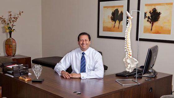 Dr. Saqib Siddiqui, M.D. minimally invasive spine surgeon